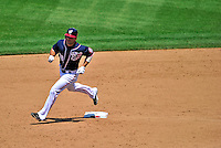 30 May 2011: Washington Nationals infielder Danny Espinosa rounds the bases after hitting a solo homer in the 5th inning against the Philadelphia Phillies at Nationals Park in Washington, District of Columbia. The Phillies defeated the Nationals 5-4 to take the first game of their 3-game series. Mandatory Credit: Ed Wolfstein Photo