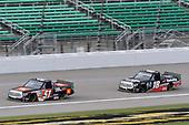 #51: Chandler Smith, Kyle Busch Motorsports, Toyota Tundra JBL #18: Christian Eckes, Kyle Busch Motorsports, Toyota Tundra Safelite AutoGlass