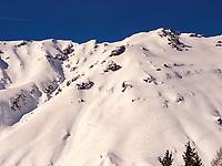 Berge bei Bergstation Alpjoch, Ski-Gebiet Hochimst bei Imst, Tirol, Österreich, Europa<br /> Mountains at hillstation Alpjoch, skiing area Hochimst, Imst, Tyrol, Austria, Europe