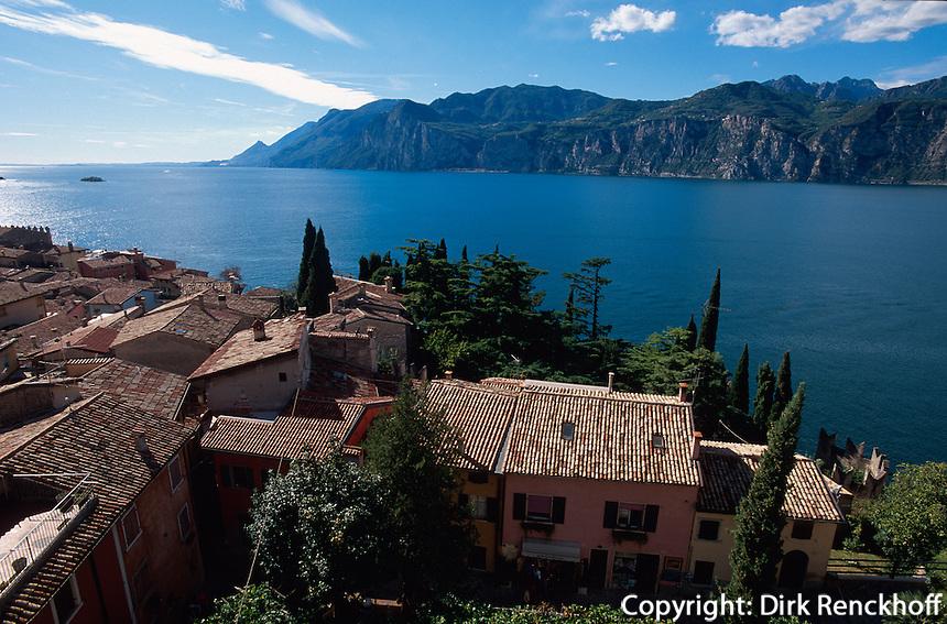 Italien, Venetien, Malcesine am Gardasee