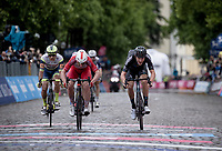 Nikias Arndt (DEU/DSM) sprints to 3rd place in teh stage<br /> <br /> 104th Giro d'Italia 2021 (2.UWT)<br /> Stage 15 from Grado to Gorizia (147km)<br /> <br /> ©kramon