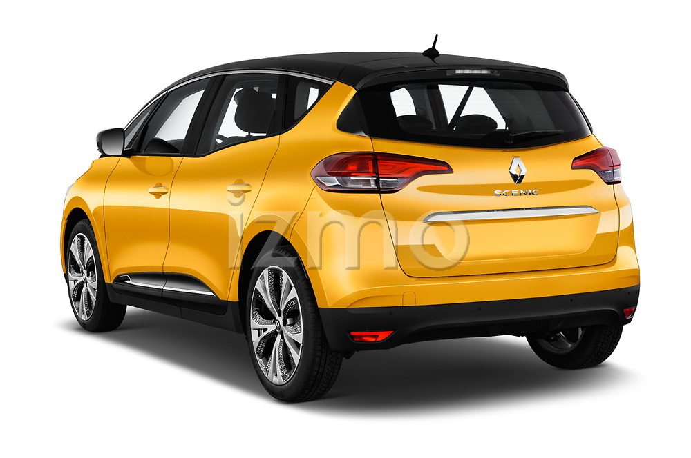 Car pictures of rear three quarter view of 2017 Renault Scenic Intens 5 Door Minivan Angular Rear
