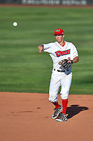 Jordan Zimmerman (3) of the Orem Owlz during the game against the Grand Junction Rockies in Pioneer League action at Home of the Owlz on July 6, 2016 in Orem, Utah. The Owlz defeated the Rockies 9-1 in Game 1 of the double header.   (Stephen Smith/Four Seam Images)