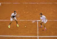September 13, 2014, Netherlands, Amsterdam, Ziggo Dome, Davis Cup Netherlands-Croatia, Doubles, Cilic/Draganja<br /> Photo: Tennisimages/Henk Koster