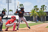 New York Yankees Jose Martinez (36) bats during an Extended Spring Training game against the Philadelphia Phillies on June 22, 2021 at the Carpenter Complex in Clearwater, Florida. (Mike Janes/Four Seam Images)