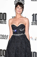 "Gemma Arterton<br /> at the ""100 Streets"" UK premiere, Bfi South Bank, London.<br /> <br /> <br /> ©Ash Knotek  D3195  08/11/2016"