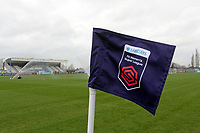 FAWSL corner flag during West Ham United Women vs Arsenal Women, Women's FA Cup Football at Rush Green Stadium on 26th January 2020
