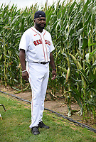 DYERSVILLE, IOWA - AUGUST 11: Fox Sports announcer David Ortiz at the MLB Field of Dreams on August 11, 2021 in Dyersville, Iowa. The MLB Field of Dreams game between the Yankees and White Socks will be on August 12 on Fox. (Photo by Frank Micelotta/Fox Sports/PictureGroup)