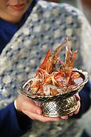 """Thailande/Bangkok: Curry de gambas royales au coco recette du recette du restaurant """"Sala Rim Naam"""" de l'Hotel Oriental"""