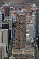 aerial photograph Qwest tower Denver, Colorado