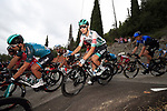 The peloton including Lennard Kamna (GER) Bora-Hansgrohe during Stage 1 of Tour de France 2020, running 156km from Nice Moyen Pays to Nice, France. 29th August 2020.<br /> Picture: Bora-Hansgrohe/BettiniPhoto | Cyclefile<br /> All photos usage must carry mandatory copyright credit (© Cyclefile | Bora-Hansgrohe/BettiniPhoto)