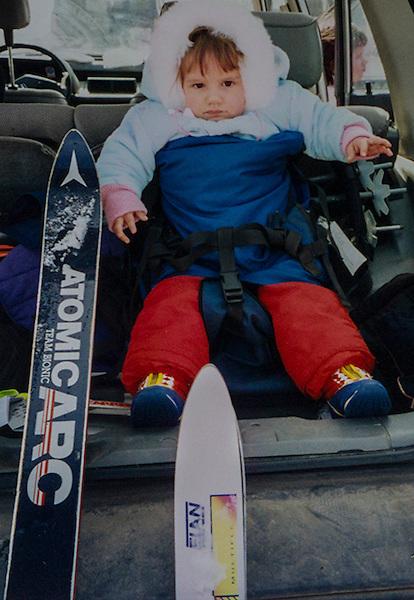 Kieffer family skiing.