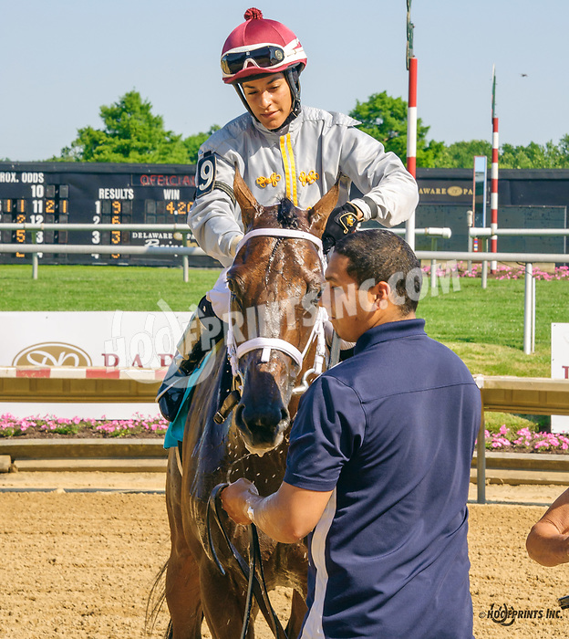 Master Plan winning The Stanton Stakes at Delaware Park on 6/10/17