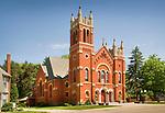 Saint Josephs Church, Randolf, Ohio.