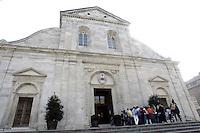 Veduta esterna del Duomo di Torino.<br /> Exterior view of the Cathedral of Turin.<br /> UPDATE IMAGES PRESS/Riccardo De Luca