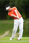 Y.E Yang in actions during Round 1 of the UBS Hong Kong Golf Open 2011 at Fanling Golf Course in Hong Kong on 1st December 2011. Photo © Victor Fraile / The Power of Sport Images