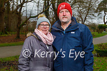 Enjoying a stroll in the Killarney National park on Saturday, l to r: Tina and Kevin Keliher