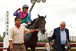 Itsmyluckyday with Paco Lopez up, wins the Gulfstream Park Derby at Gulfstream Park.  Hallandale Beach Florida. 01-01-2013