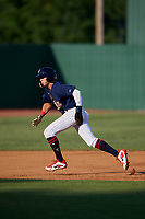 Elizabethton Twins center fielder DaShawn Keirsey (8) runs the bases during a game against the Bristol Pirates on July 28, 2018 at Joe O'Brien Field in Elizabethton, Tennessee.  Elizabethton defeated Bristol 5-0.  (Mike Janes/Four Seam Images)