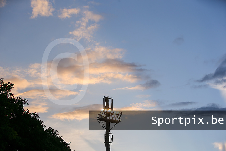 during a female soccer game between FC Femina White Star Woluwe and Oud Heverlee Leuven on the fourth matchday in the 2021 - 2022 season of Belgian Scooore Womens Super League , Friday 10 th of September 2021  in Woluwe , Belgium . PHOTO SPORTPIX | SEVIL OKTEM