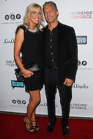 LOS ANGELES, CA, USA - NOVEMBER 18: Shannon Beador, David Amid arrive at the Los Angeles Premiere Of Bravo's 'Girlfriends' Guide to Divorce' held at the Ace Hotel on November 18, 2014 in Los Angeles, California, United States. (Photo by Celebrity Monitor)