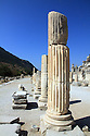 Fluted columns at the ruins of Ephesus