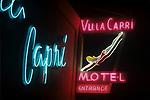 Villa Capri Motel Neon Sign