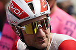 Elia Viviani (ITA) Cofidis lines up for the start of Stage 6 of the 2021 UAE Tour running 165km from Deira Island to Palm Jumeirah, Dubai, UAE. 26th February 2021.  <br /> Picture: Eoin Clarke   Cyclefile<br /> <br /> All photos usage must carry mandatory copyright credit (© Cyclefile   Eoin Clarke)
