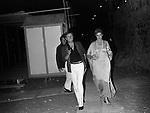 CARLA GRAVINA CON UMBERTO ORSINI E CORRADO PANI<br /> POSITANO 1974