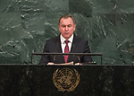 72 General Debate – 20 September <br /> <br /> Republic Belarus,   Andrei Kobyakov