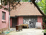British Consul's Residence, Post 1931.  Garage From The Rear Of The House.  Badaguan, Qingdao (Tsingtao).