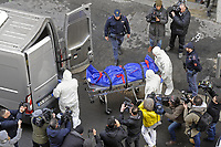 - Milano, 7 febbraio 2018, omicidio di una giovane donna in via Brioschi, nel palazzo della cooperativa dei tranvieri ATM<br /> <br /> - Milan, 7 February 2018, murder of a young woman in Brioschi Street, in the building of the ATM tramway workers cooperative.