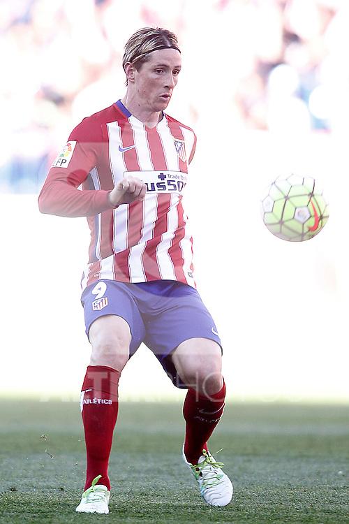 Atletico de Madrid's Fernando Torres during La Liga match. April 17,2016. (ALTERPHOTOS/Acero)