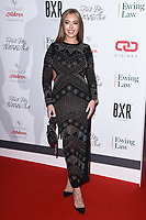 Tyne-Lexy Clarson<br /> arriving for the Float Like a Butterfly Ball 2019 at the Grosvenor House Hotel, London.<br /> <br /> ©Ash Knotek  D3536 17/11/2019