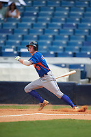Daniel Cabrera (6) of John Curtis High School in River Ridge, Louisiana playing for the New York Mets scout team during the East Coast Pro Showcase on July 30, 2015 at George M. Steinbrenner Field in Tampa, Florida.  (Mike Janes/Four Seam Images)
