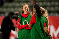CARSON, CA - FEBRUARY 07: Canada during a game between Canada and Costa Rica at Dignity Health Sports Complex on February 07, 2020 in Carson, California.