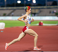 10th June 2021; Stadio Luigi Ridolfi, Florence, Tuscany, Italy; Muller Diamond League Grand Prix Athletics, Florence and Rome; Gabriela Stafford during the women's 1500m race which was won by Sifan Hassan