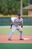 Detroit Tigers Anthony Pereira (68) during practice before an Instructional League game against the Pittsburgh Pirates on October 6, 2017 at Pirate City in Bradenton, Florida.  (Mike Janes/Four Seam Images)