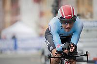 Ilan Van Wilder (BEL)<br /> <br /> Men Junior Individual Time Trial<br /> <br /> UCI 2017 Road World Championships - Bergen/Norway