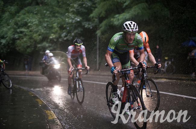 race leaders in the rain<br /> <br /> 50th GP Jef Scherens 2016