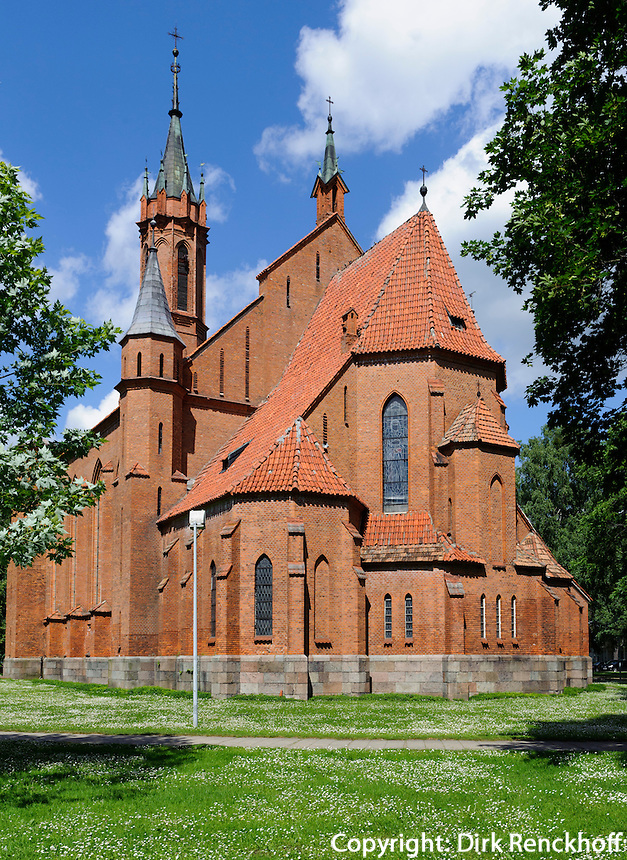katholische Kirche in Drusininkai, Litauen, Europa