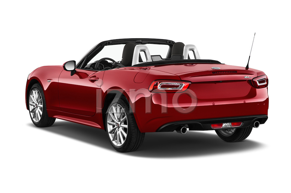 Car pictures of rear three quarter view of 2016 Fiat 124-Spider Lusso 2 Door Convertible Angular Rear