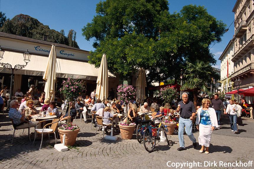 Deutschland, Baden-Württemberg, Cafe in Baden-Baden