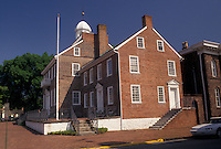 AJ4260, New Castle, Delaware, New Castle Courthouse in the state of Delaware.