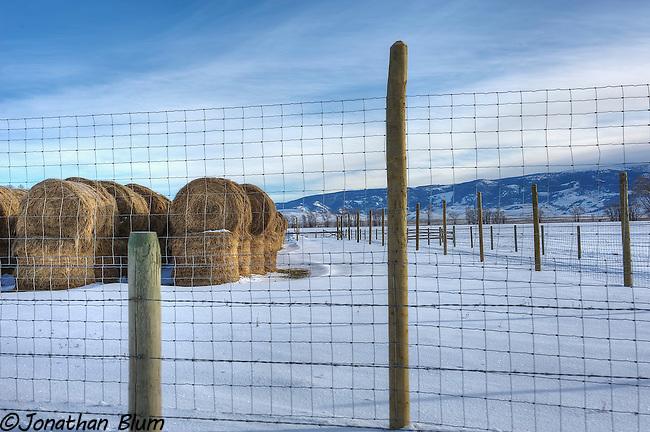 Ranch Scene, Jackson, Wyoming, HDR