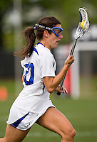 Jillian Heinz (30) of Duke moves towards goal during the first round of the ACC Women's Lacrosse Championship in College Park, MD.  Duke defeated Boston College, 17-6.