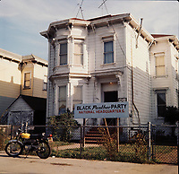 FILE -  black panther party national headquarter in Oakland, California, , circa 1970<br /> <br /> Photo : Alain Renaud - Agence Quebec Presse