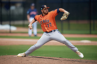Houston Astros pitcher J.P. France (77) during a Minor League Spring Training Intrasquad game on March 28, 2019 at the FITTEAM Ballpark of the Palm Beaches in West Palm Beach, Florida.  (Mike Janes/Four Seam Images)