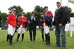 Equestrian - Showjumping - Meydan FEI Nations Cup. The USA team during the Meydan FEI Nations Cup at the Royal Dublin Society (RDS) in Dublin.