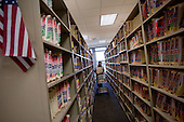 November 8, 2010.Orlando, Florida..Clerk of the Circuit and County Courts in Orange County Florida hold foreclosure auctions every day of the week and have filed of over 70,000 homes since 2007. ..The shelves are filled with 90% foreclosure cases and go on row after row.